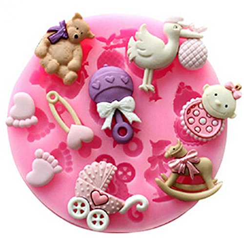 Как сделать фигурки для торта детские