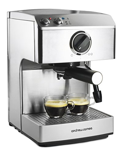 Barista Home Coffee Maker : Andrew James 15 Bar Pump Barista Coffee Maker With 2 Year Warranty For Professional Espressos ...