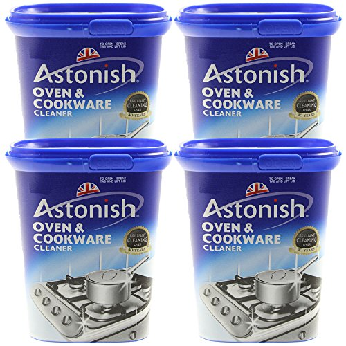 Astonish pack of 4 500g oven cookware all purpose kitchen for Oven cleaner on kitchen countertops