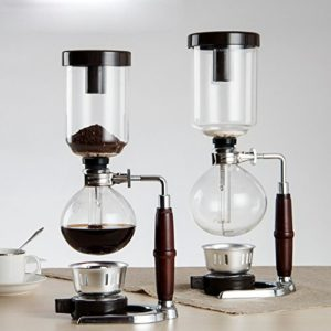 decentgadget coffee syphon vacuum glass coffee maker 5 cup kitchen and cookware. Black Bedroom Furniture Sets. Home Design Ideas