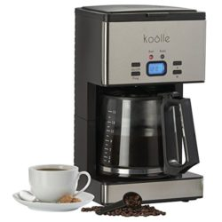 Programmable Coffee Maker With Reusable Filter : Koolle Coffee Machine Maker 1000 Watt Digital Filter With Fully Programmable Function And ...