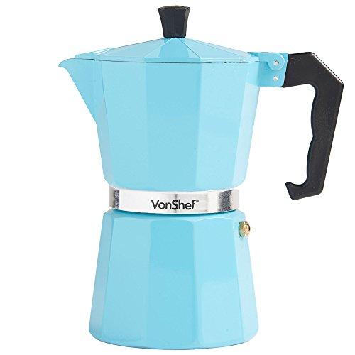 Italian Coffee Maker Seals : VonShef 6 Cup Italian-Style Espresso Coffee Maker Moka Stove Top Macchinetta in 3 colours ...