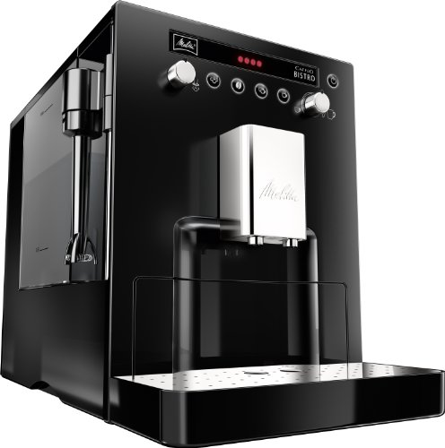 melitta mel6613822 caffeo bistro fully automatic bean to cup coffee maker black kitchen and. Black Bedroom Furniture Sets. Home Design Ideas