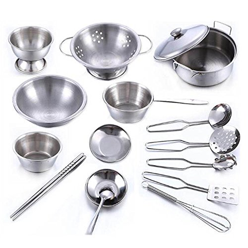 Yeesn Role Play Toy Kitchen Cooking Educational Learning Set